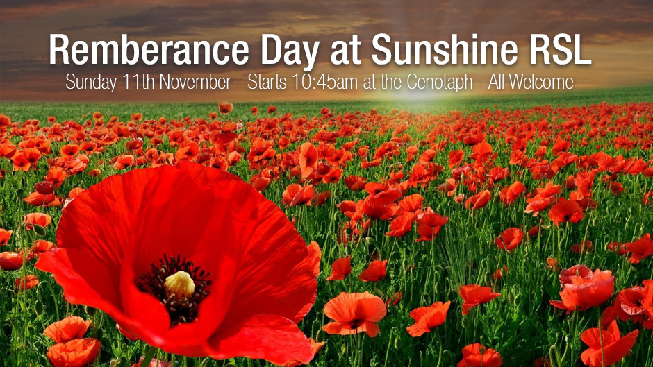 2018 10 Remberance Day