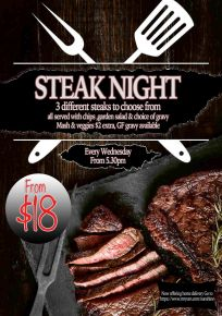 2021 01 Steak Night